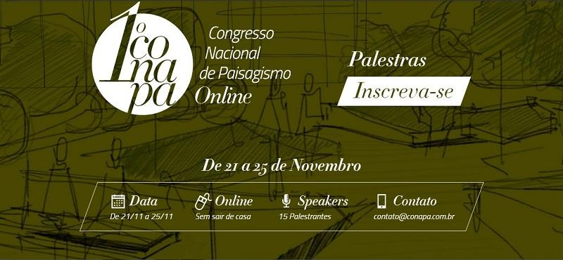 1º CONAPA - Congresso Nacional de Paisagismo Online