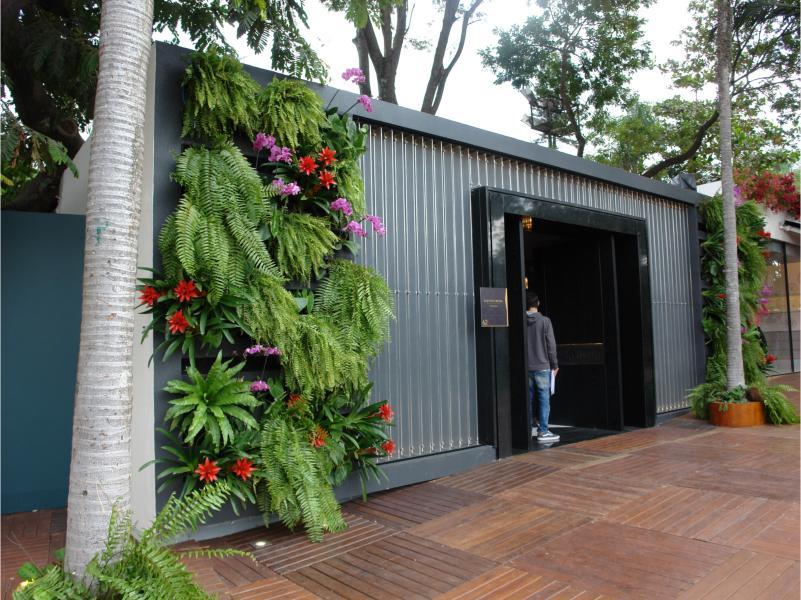 Jardins verticais GreenWall Ceramic figuram entre os destaques da Casa Cor São Paulo 2016