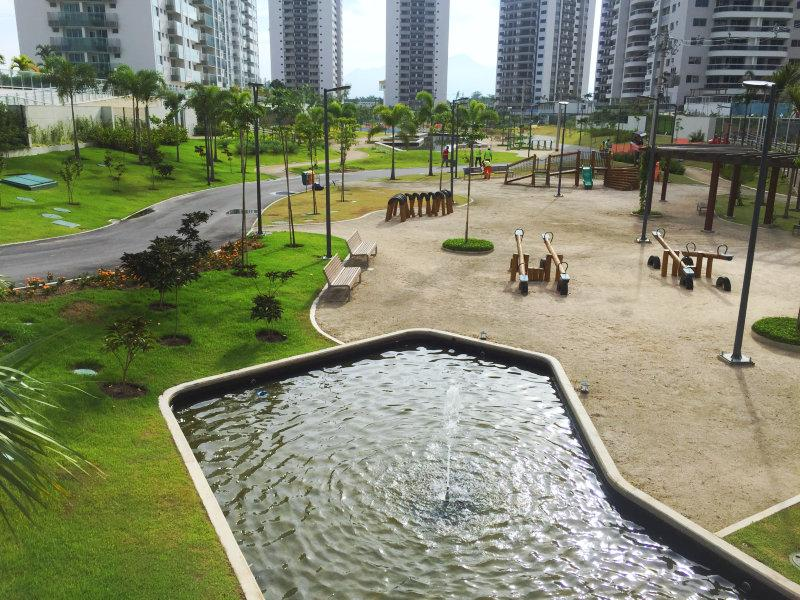 Parque urbano destaca um projeto sustentável e uso inteligente da água