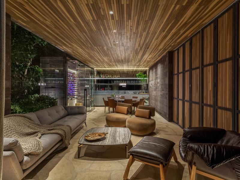 Casa dos Vinhos da 25ª CASACOR Minas é o espaço ideal para os amantes da bebida