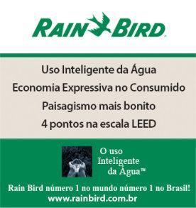 Banner Rain Bird - Interno