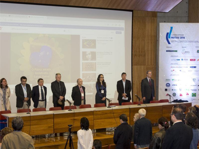 NUTAU / USP 2016 - XI Seminário Internacional :  ÁGUAS Projetos e Tecnologia para o Território Sustentável