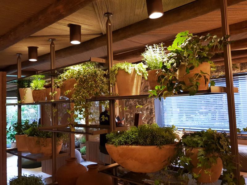 Formas criativas de integrar os arranjos a decoração de ambientes internos