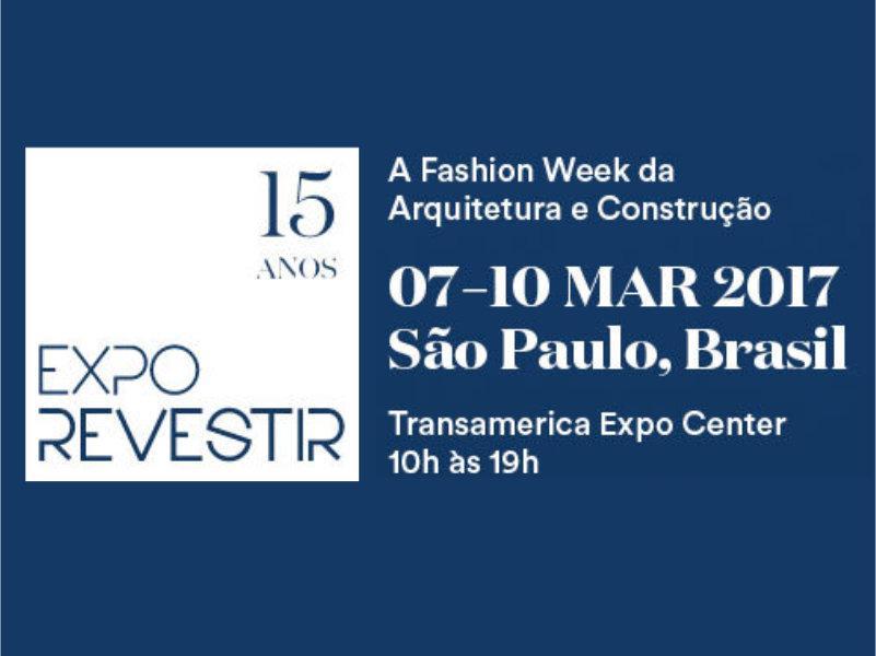 Tendências na Expo Revestir: De estampas a detalhes em cristal