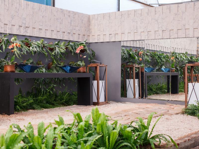 Expoflora - Mostra de Paisagismo apresenta tecnologias que permitem plantas com pouca ou nenhuma rega
