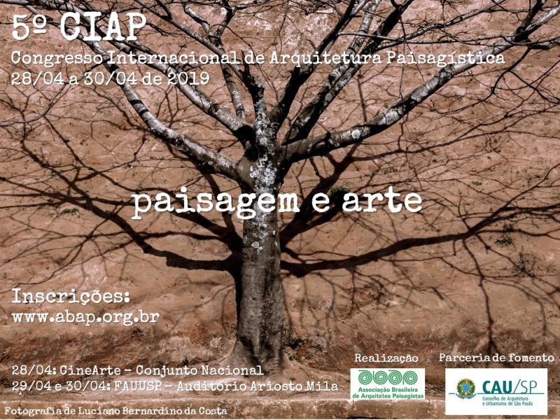 5º CIAP - Congresso Internacional Paisagem e Arte