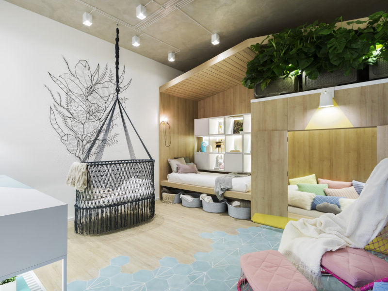Quarto de Bebê com cabana marca a estreia do SP Estudio na CASACOR São Paulo 2017