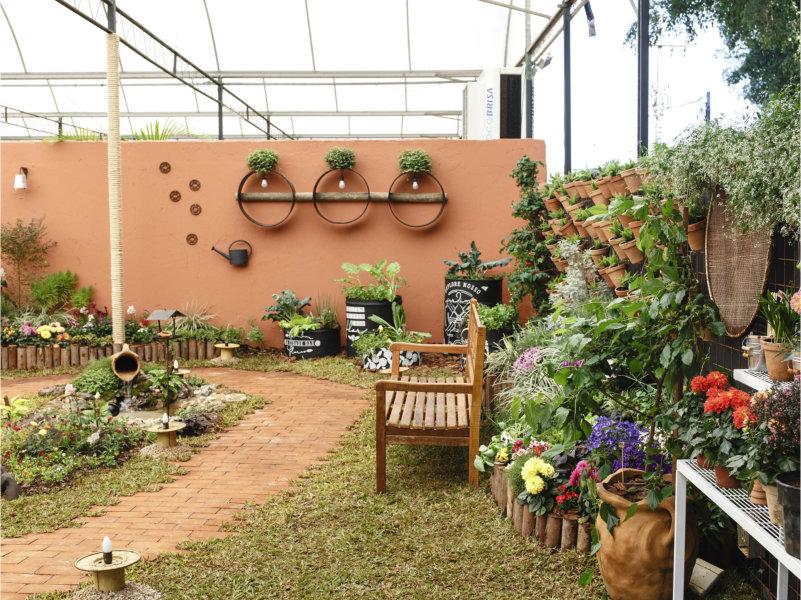 Expoflora - Mostra de paisagismo e decoração traz ideias inovadoras calcadas na sustentabilidade