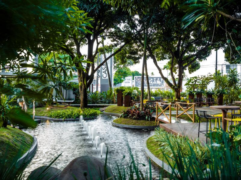 Nado Livre Piscinas participa da Casa Cor Paraíba no ambiente Jardim Burle Marx
