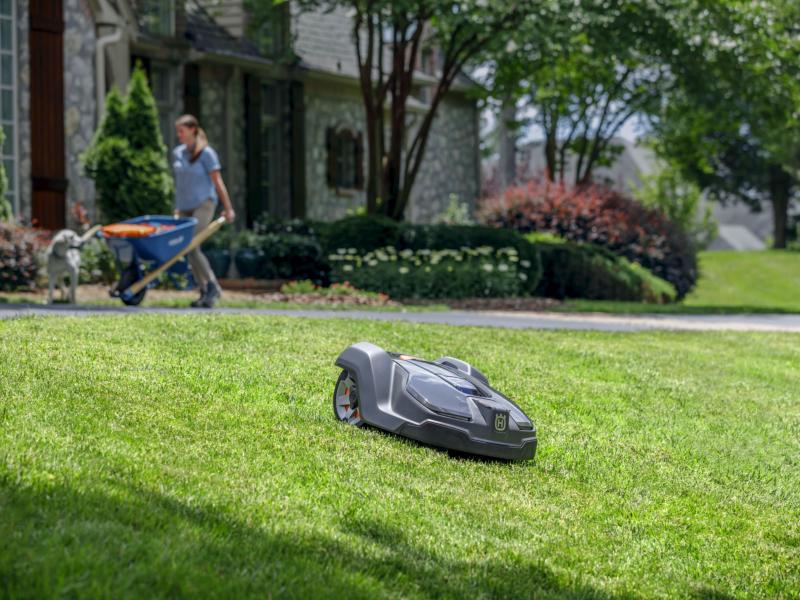 Robô cortador de grama é aposta da Husqvarna
