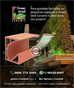 Banner Green Wall